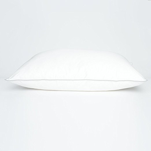 "20""x36"" 300 TC Cluster Puff Polyester Bed Pillow"