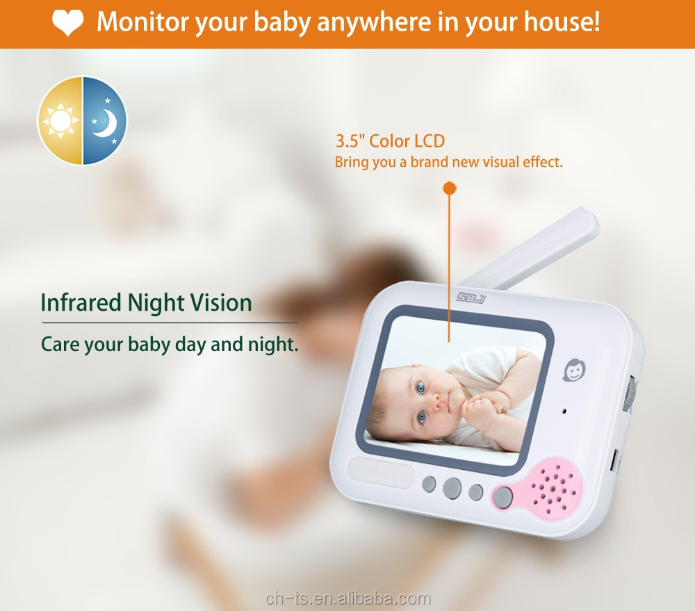 infrared night vision music infrared camera monitor digital video baby safety monitor