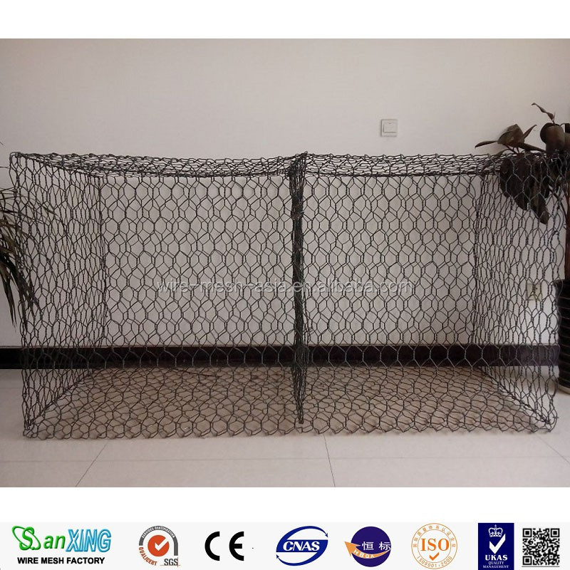 factory products hexagonal chicken wire mesh/rabbit wire mesh/galvanized Gabion welded wire mesh