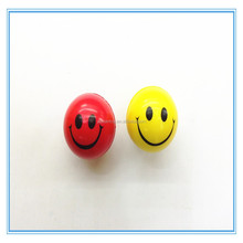 PU smile face stress ball,Antistress toy ball,Muti color foam smily ball