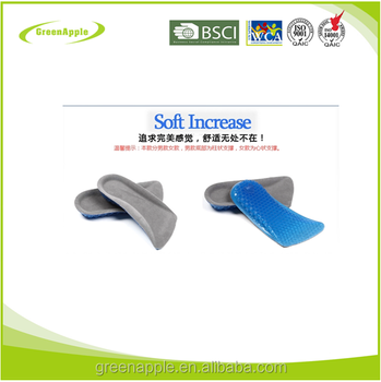 Shoe Heel Protectors Height Increasing Elevator Insole High Heel Pads