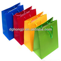 led light paper bag