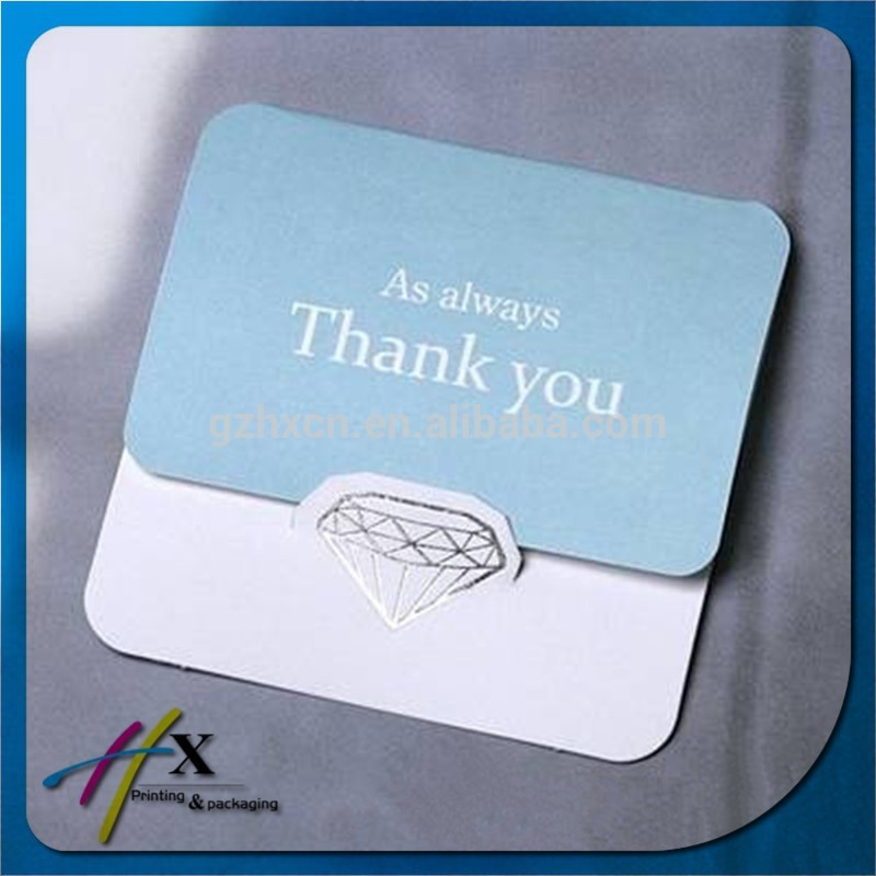 Simple Design For Company Thank you Card Elegant Greeting Card