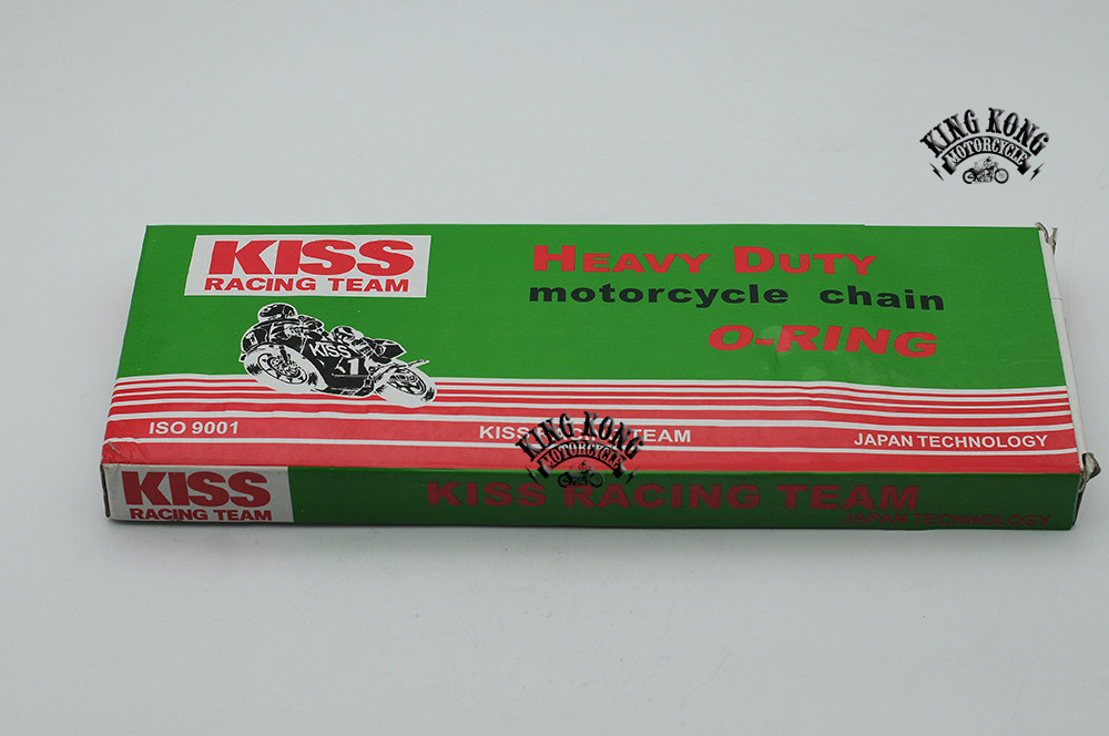 Kiss 428 520 530 Motorcycle Chain Japan Tech O-RING Golden Drive Chain