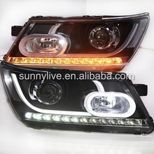 2009-2014 Year For Dodge Journey JCUV Fiat Freemont LED Head Lamps LF