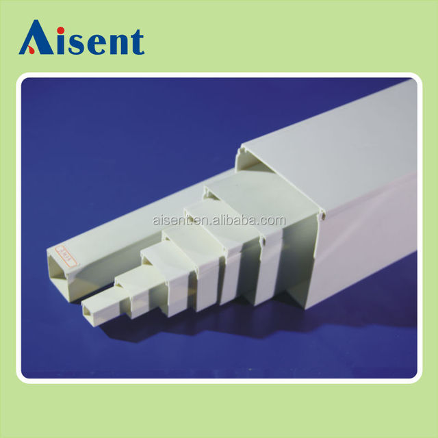 16X16mm 16x25mm 25x40mm size dignity pvc electronic trunking