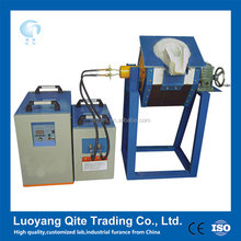 Small high frequency induction gold smelting furnace