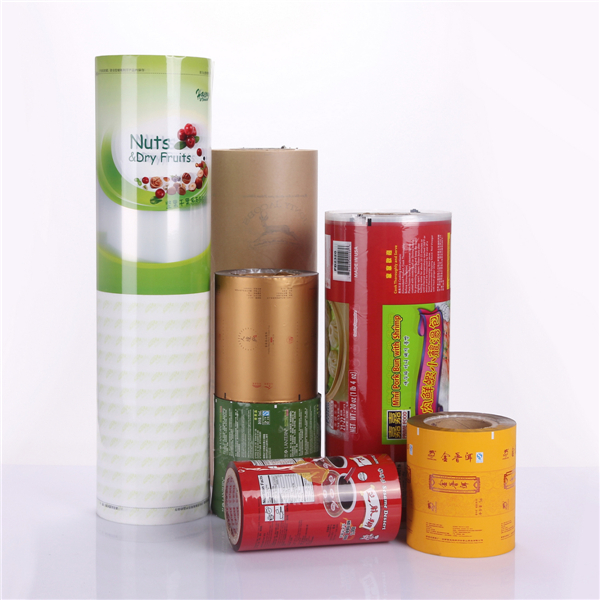 Plastic Laminated Packing Aluminum Foil Food Packaging Film For Coffee