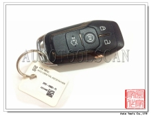 4 button smart remote key For Ford key 434MHZ AK018054