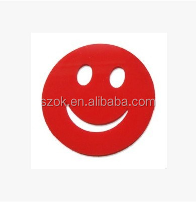 Funny design cheap red acrylic drink coasters wholesale
