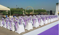 USED WEDDING CHAIR COVERS BANQUET CHAIR COVERS FOR SALE 001A