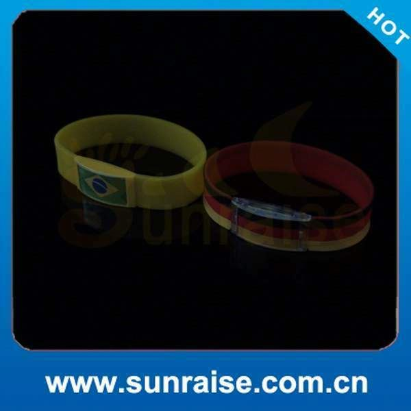 silicone bracelet 2014 football games