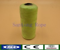 High quality green braided nylon thin cord with high quality
