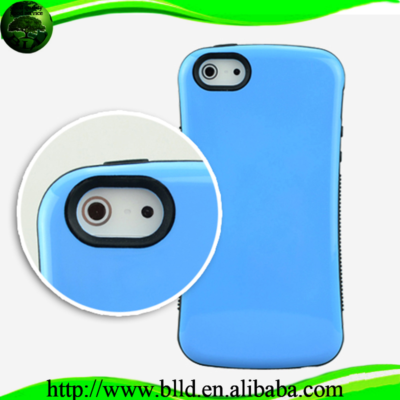 2 in 1 hybrid PC+TPU Case funda movil for Iphne 5