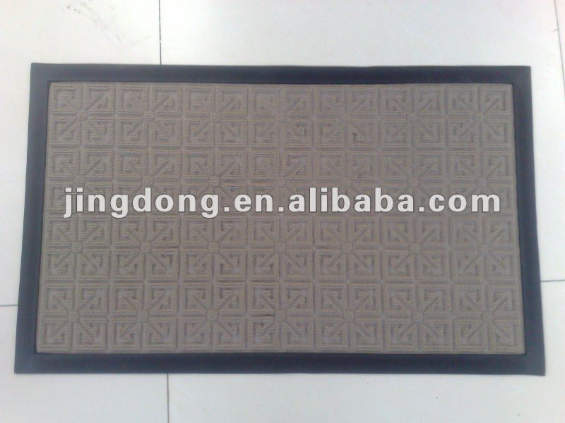 entrance rubber door mat