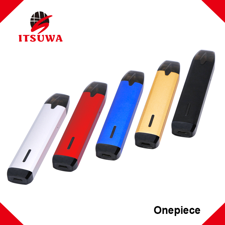 Itsuwa pod e cigarette disposible tank vaporizer 650mAh battery