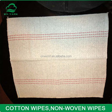 china 100% Cotton waste cleaning cloth