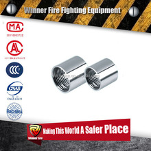 Stainless steel male Thread Fitting Half Coupling for fire hose