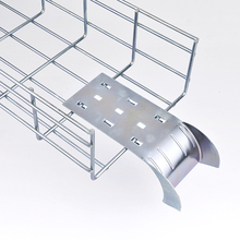 ISO9001Stainless steel outdoor Basket pvc cable trunking for Projects