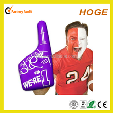 New Design Pvc Inflatable Hand For Promotional
