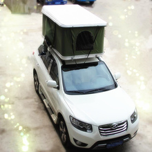 Travelling Outdoor 4WD Roof Tent Easy Controlled Flat Car Roof Tent