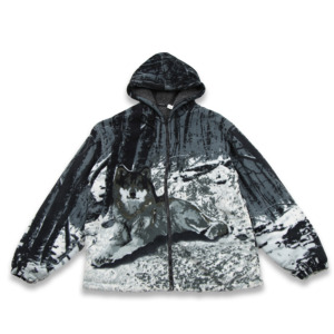 OEM service 3d digital print jacket warm fleece jacket men warm jacket High Quality 3d Print