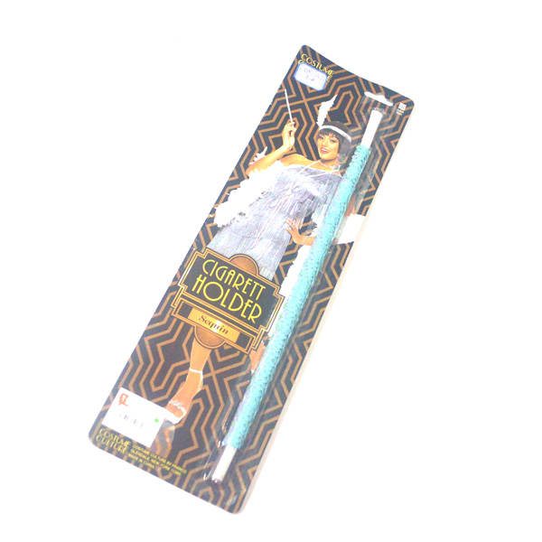 20's sequin plastic beatnick cigarette holder