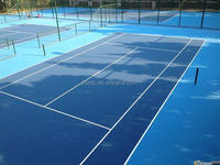 Elastic acrylic acid sports court surface for Basketball Badminton Volleyball And Tennis Court