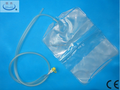 Disposable Peritoneal Dialysis Drainage bag with double-tube for collecting waste fluid of patient who has uremia-3000ml PVC