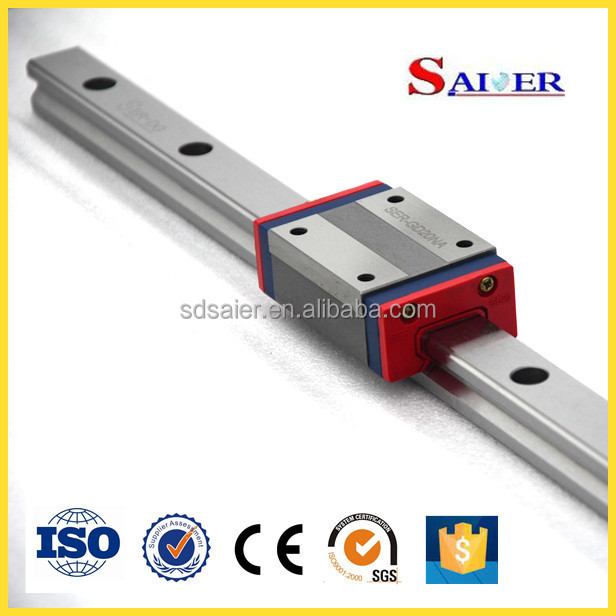 25MM NA linear guide/linear rail bearing for CNC Machine