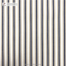 Cotton/poly cvc yarn dyed stripe fabric for Shirts