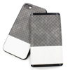 The Leather Power Bank & Smart Phone Case for Apple iPhone 8,7,7 Plus, Portable 5000mAh Gray PU Leather Power Bank