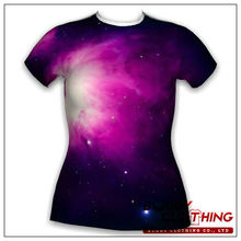 Low price galaxy t-shirts low moq clothing