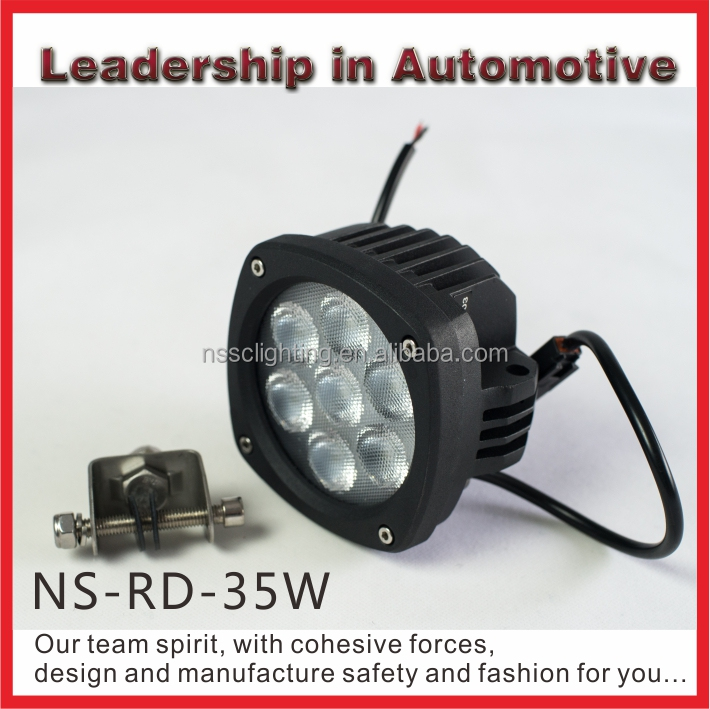 35w Led Auto Working Light spot Light Combo Light High Quality Ip68 Worklight 4.3 inch Led Lamp