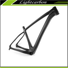 2016 LightCarbon Latest 27.5er Full Carbon Fiber Boost Plus Hardtail Disc Brake Mtb Bike Frame LCM705