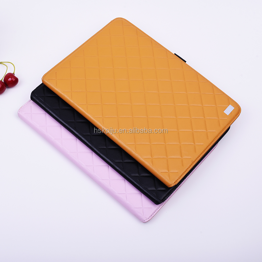 universal cute stand Laptop Tablet Computer Sleeve Case leather for ipad