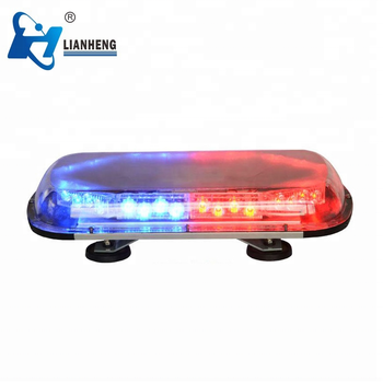 LED mini warning light bar for special police vehicle and ambulance vehicle