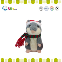 Stuffed plush X hamster animals for chrismas gift,x hamster for kids