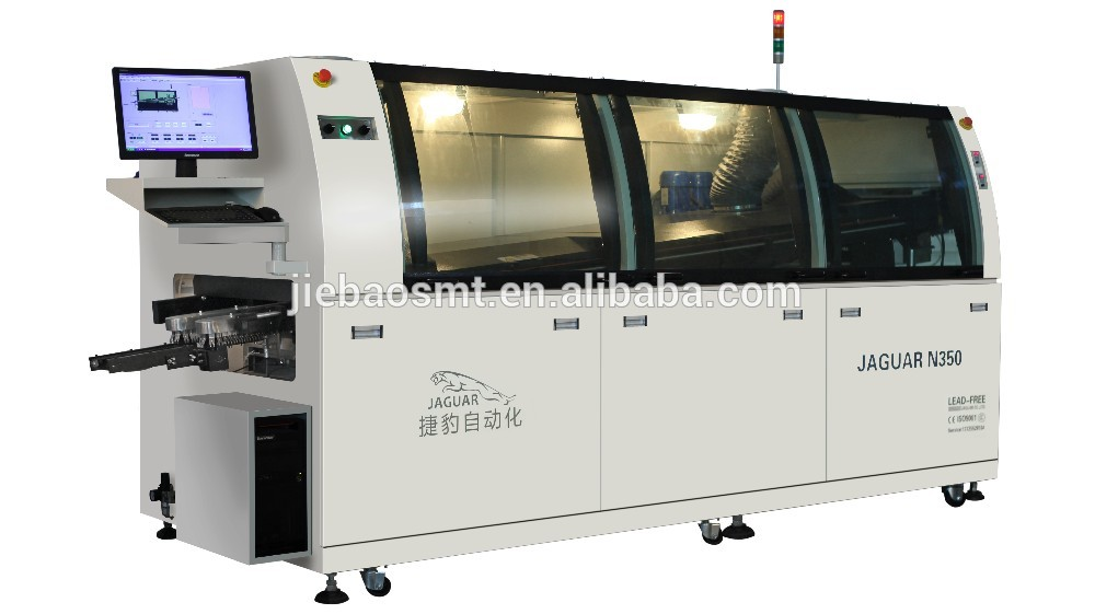 Jaguar Large size SMT Auto wave Soldering Machine for PCB production line
