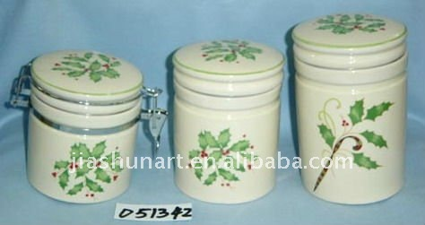 Sealed storage pot