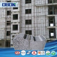 OBON lightweight fiber concrete fireproof board for exterior wall and partition wall