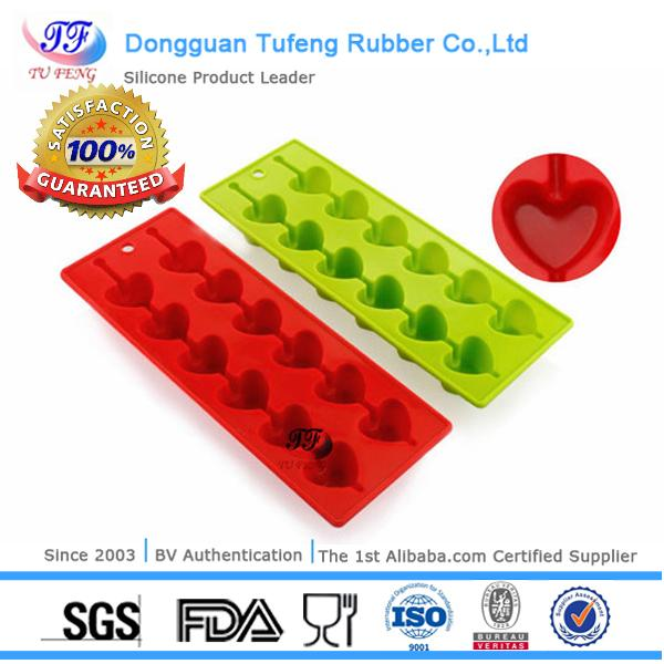 Dongguan silicone items durable DIY ice cube tray/molds