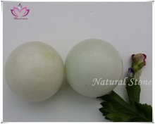 white jade hand balls hand exercise balls massage ball