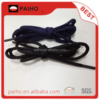 ABS tip fashion custom polyester round shoelace