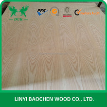 AAA, AA grade White ASH Veneer plywood and Oak plywood E1 glue