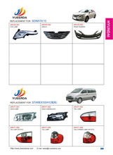 page 30 31 32 : starex 2003 auto lamp , auto parts starex . H1 auto parts , yueerda auto lamp china