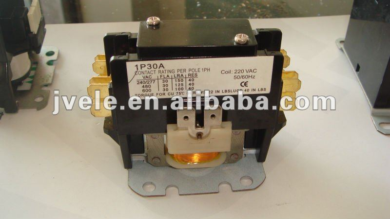 single phase 1P 30A 220V Air Conditional Contactor
