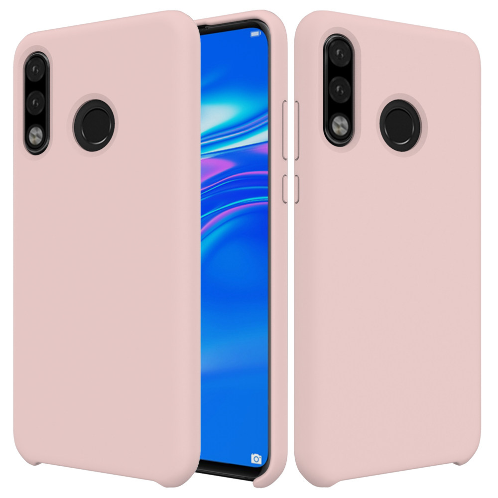 Shockproof Slim Soft Silicone Phone Case Lightweight Cover for Huawei P30 Lite with <strong>Microfiber</strong> Cloth Lining