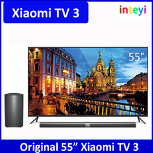 "Original New Xiaomi TV3 55"" Inches Smart TV English Interface HD Screen Real 4K 3840*2160 Ultra HD Quad Core Household TV"