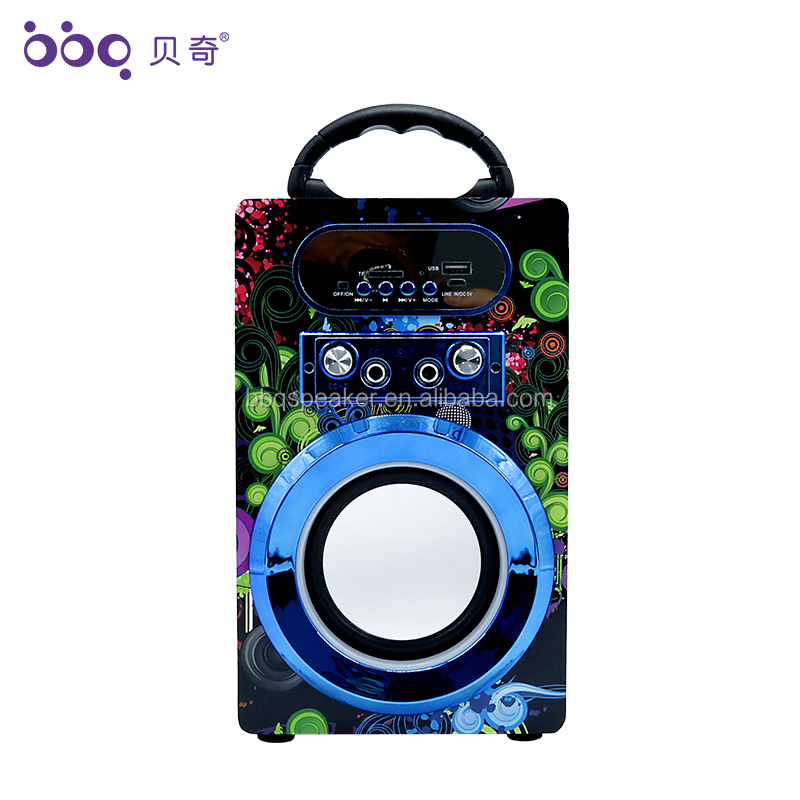 BBQ KBQ-08A 2018 New Arrival Multimedia Bluetooth Speaker Made in China